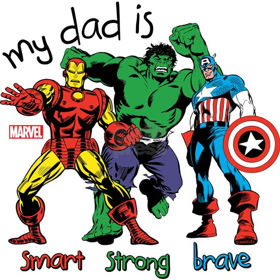 Marvel My Dad is Smart