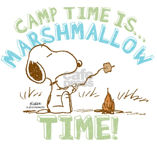 Snoopy Marshmallow Time