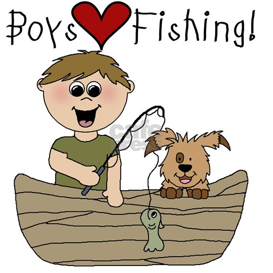 Boys Love Fishing