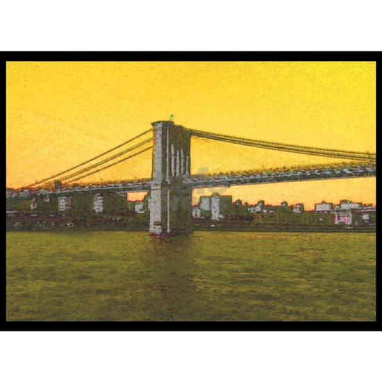 Retro Brooklyn Bridge Majestic NYC 4Emma