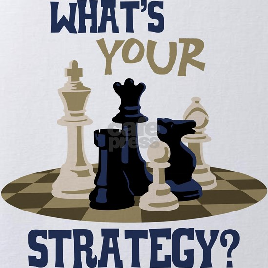 WHATS YOUR STRATEGY?