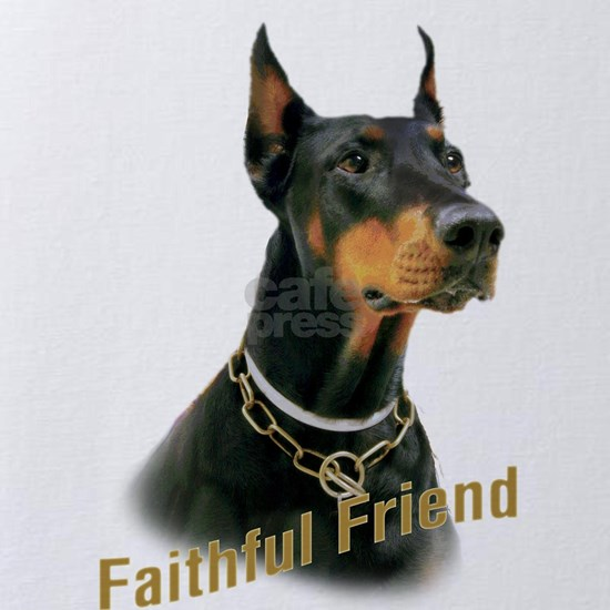Doberman Faithful friend