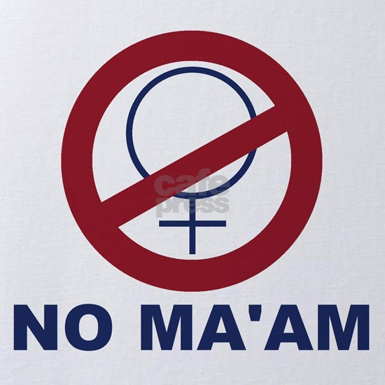 bundyism - no ma'am logo