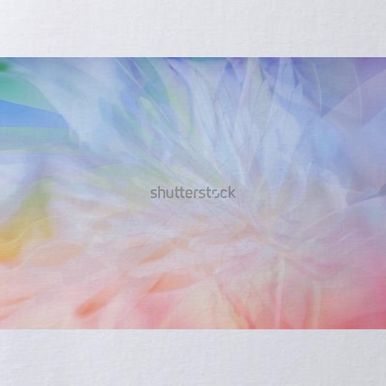 Abstract multicolored blurred floral background