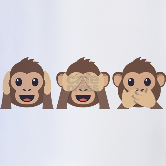 Hear See Speak No Evil Monkey