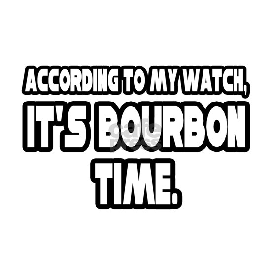 time for bourbon