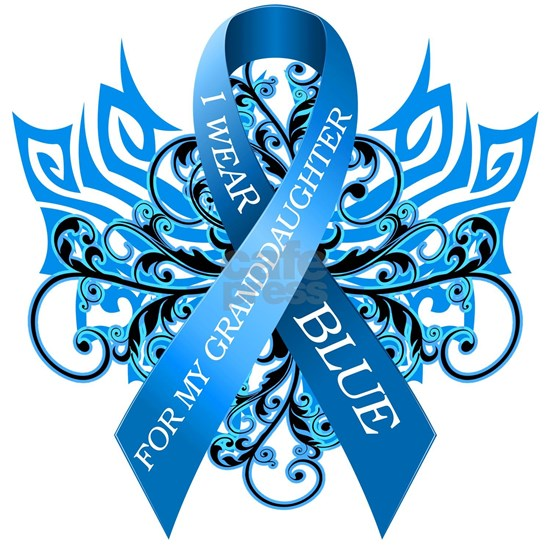 I Wear Blue for my Granddaughter