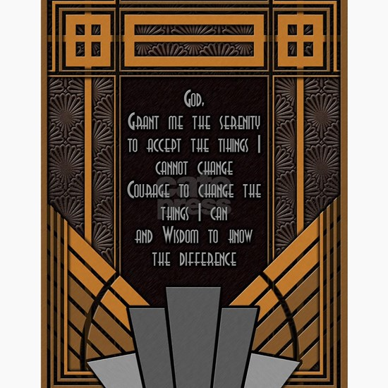 Serenity Prayer (Art Deco)