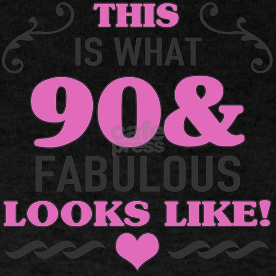 90th Birthday Fabulous