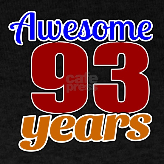 93 Awesome Years Birthday Designs