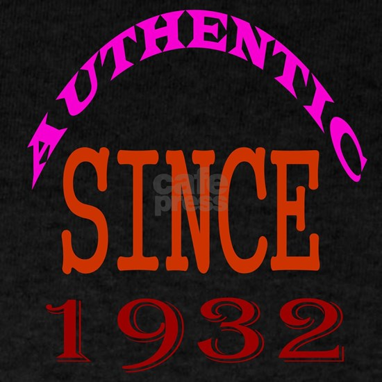 Authentic Since 1932 Birthday Designs
