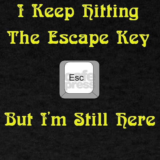 Escape Key - Yellow