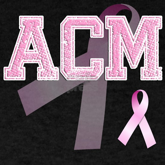 ACM initials, Pink Ribbon,