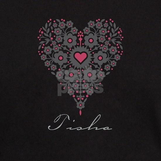 Love Tisha Dark T-Shirt Love Tisha T-Shirt by Unique Girls ...