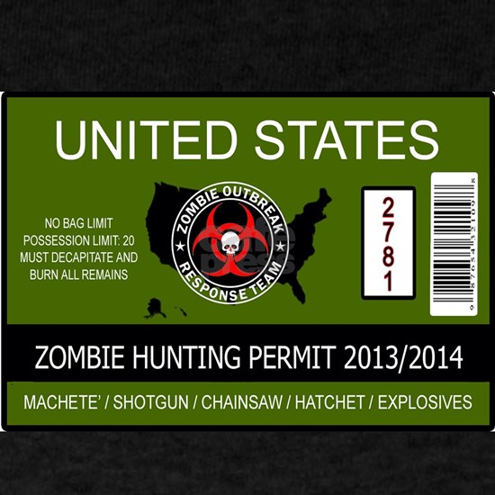 Zombie Hunting Permit 2013/2014