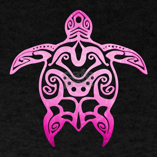 Pink Tribal Turtle
