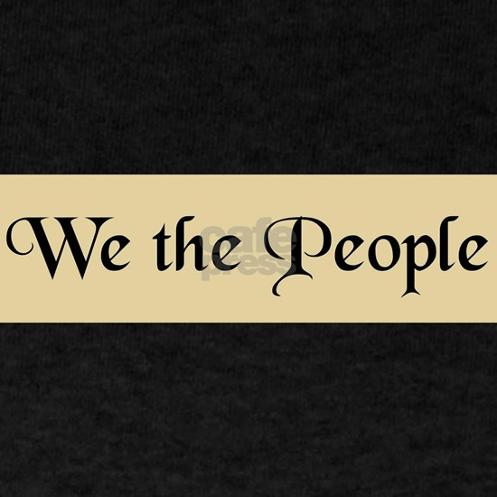 We The People 11in Banner