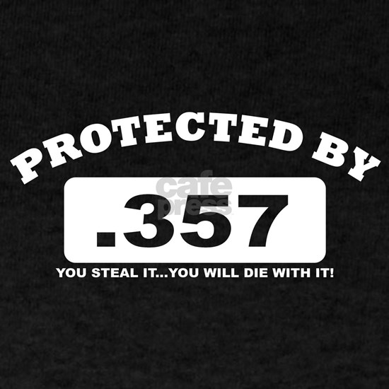 property of protected by 357 w