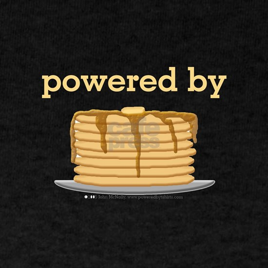powered by pancakes black