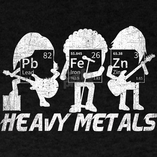 Funny Chemistry Heavy Metals. Chemistry Rock &