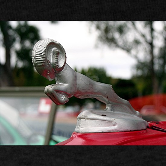 Ram old car hood ornament
