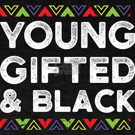 African Design Young Gifted and Black Birthday Gif