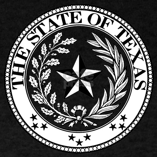 texas state seal stars
