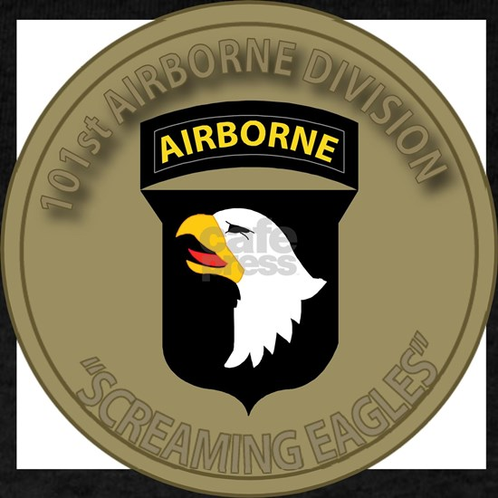 101st Airborne Screaming Eagles T-shirts