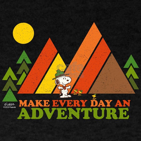 Snoopy-Make Every Day An Adventure-Dark