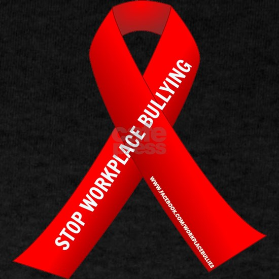 Red Ribbons for Workplace Bullying Awareness