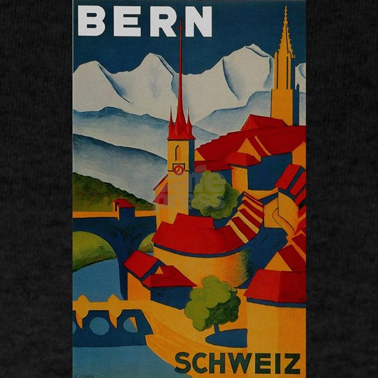 Vintage Bern Switzerland Travel