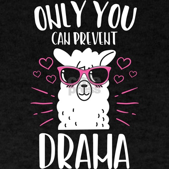 Only You Can Prevent The Drama Llama Alpaca Gift