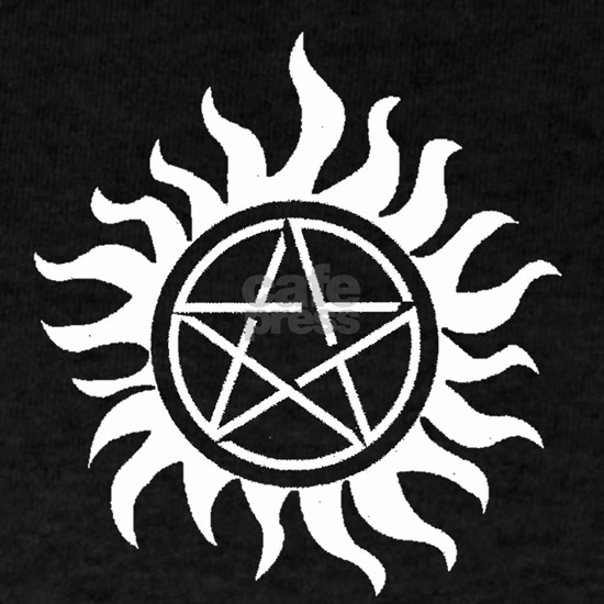 Spn pentagram copy white clear