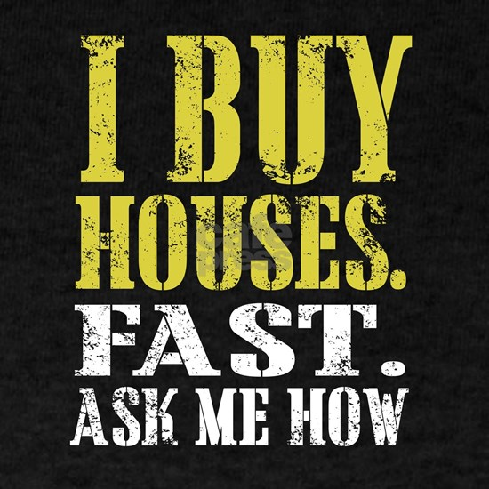 I Buy Houses Fast - Real Estate Investor - House F