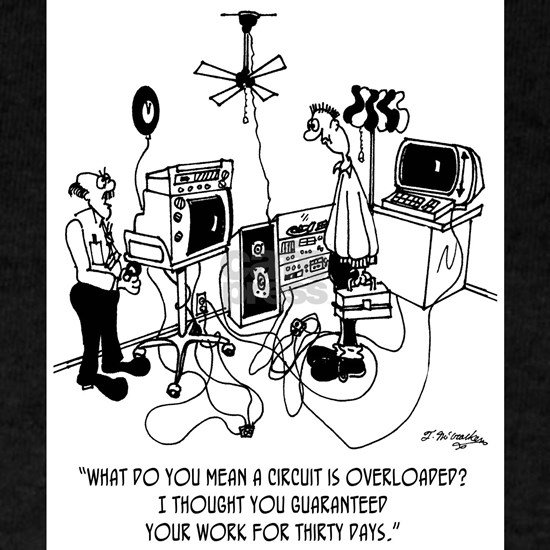 Electrician Cartoon 4427
