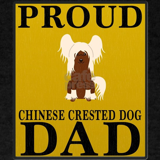 Proud Chinese Crested Dog Dad