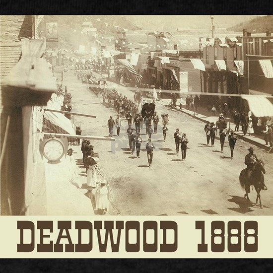 Celebration in Deadwod  1888