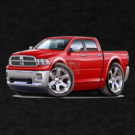 2010-12 Ram Dual Red Truck