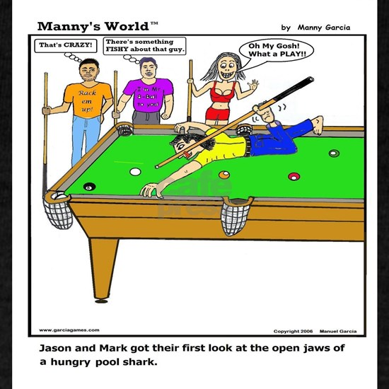 Pool Shark Open Jaws