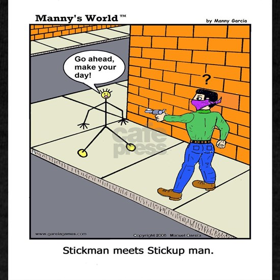 Stickman Meets Stickup Man