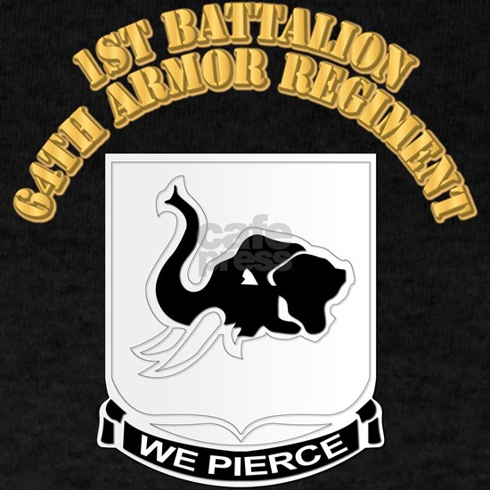 DUI - 1st Bn 64th Armor Regiment with Text