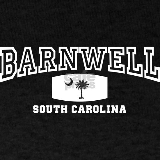 Barnwell South Carolina, SC, Palmetto Flag