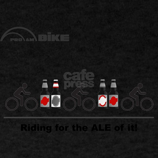 Cycling T Shirt - Riding for the ALE of it!