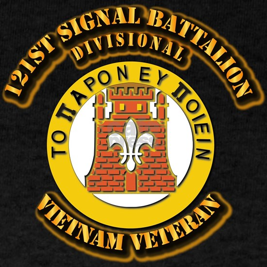 121st Signal Battalion (Divisional) With Text