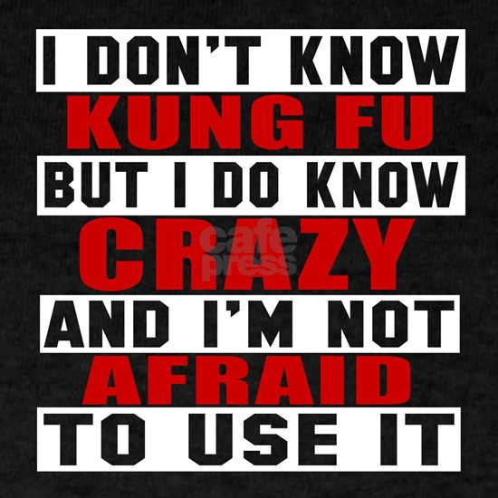 Kung Fu I Am Not Afraid To Use It