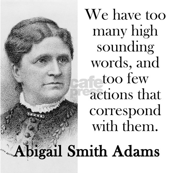 We Have Too Many High Sounding Words - Abigail Ada