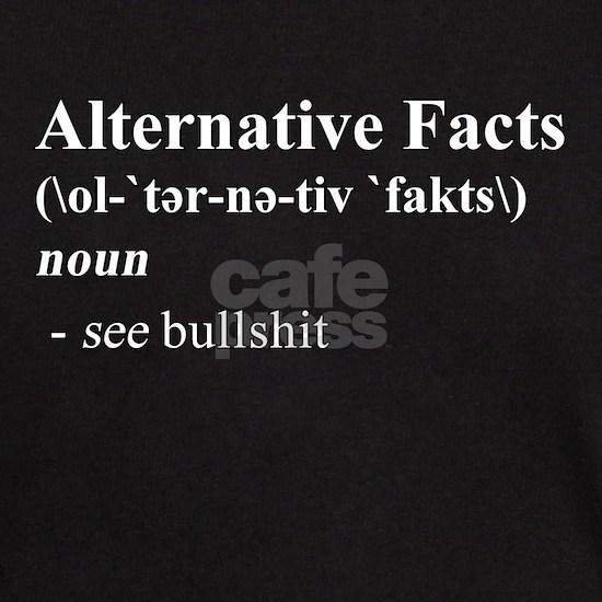Alternative Facts Definition - White