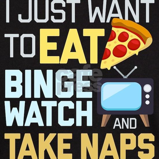 Pizza Binge Naps Emoji