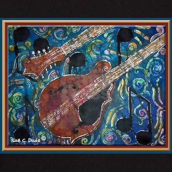 Mandolin-no words black