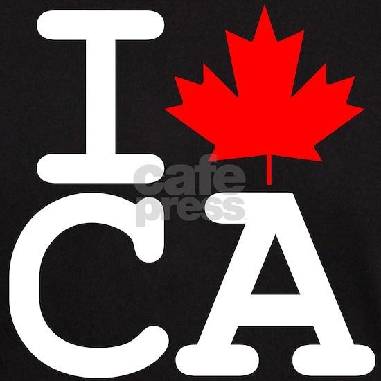 I Heart Canada dark